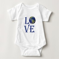 Love the world our planet tee shirts