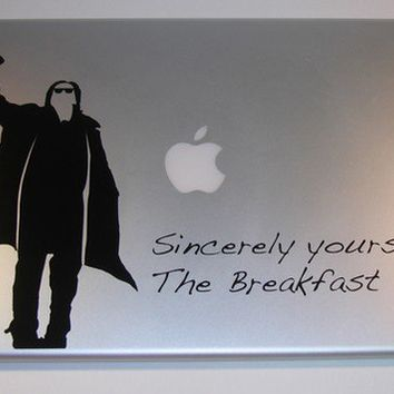 The Breakfast Club Laptop Decal Art Bender macbook