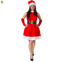 New Year Winter Women Dress Santa Snowman Women Clothing Christmas Costume OutfitsWomen Ball Party Wear