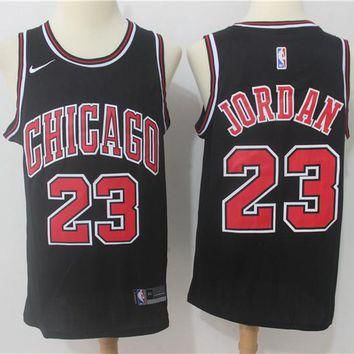 NBA Basketball Swingman Jerseys Chicago Bulls # 23 Michael Jordan Black