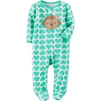 Child of Mine By Carter's Newborn Baby Girl Sleep N Play - Walmart.com