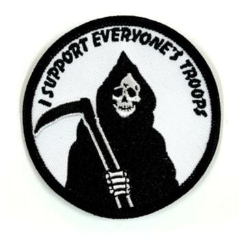 HOME :: Pins & Patches :: PATCHES :: I Support Everyone's Troops Patch