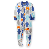 1-Piece Microfleece PJs