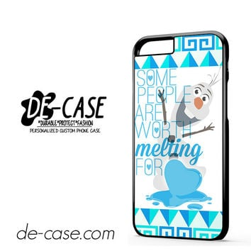 Olaf Quote Disney Frozen For Iphone 6 Iphone 6S Iphone 6 Plus Iphone 6S Plus Case Phone Case Gift Present