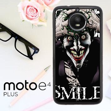 Joker Batman The Killing Joke C0031 Motorola Moto E4 Plus Case