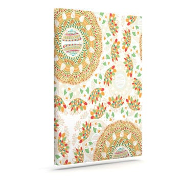 "Miranda Mol ""Bohemian Bright"" Geometric Multicolor Canvas Art"