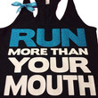 Run More Than Your Mouth - Ruffles with Love - women's fitness - women's workout clothing