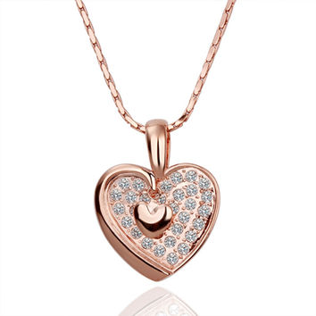 New 2016 Necklace Women jewelry 18K Gold necklaces & pendants UXDJYOLF