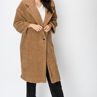 Ursa Major Teddy Coat in Mocha