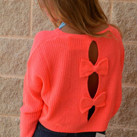Neon Pink Melt Your Popsicle Sweater · Haute Pink