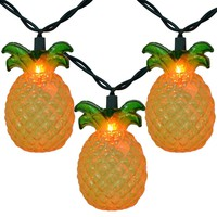 Designer Pineapple Shaped Indoor Outdoor String Lights