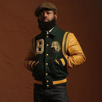 "Shop — Catalog Products — BKc ""Ivy Green"" Varsity 