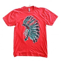 Free Spirit Headdress Tee
