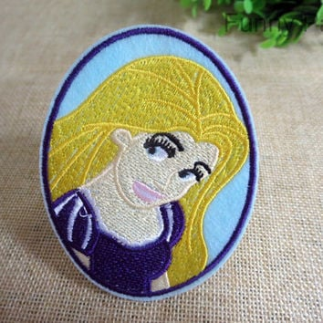 Rapunzel Princess Iron on Patch 69-HA