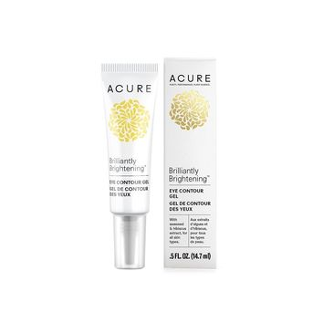 Acure Brilliantly Brightening Eye Contour Gel - 0.5 oz
