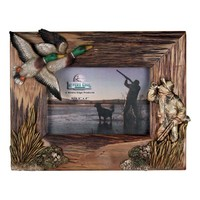 River's EdgeDuck HuntingPhoto Frame - 4x6 Firwood Root