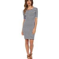 Splendid Stripe Dress White - 6pm.com
