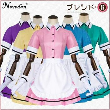 Sexy Blend S Maid Costume Anime Maika Hideri Kanzaki Cosplay Uniform Sweet Lolita Dress Plus Size Halloween Costumes For Women