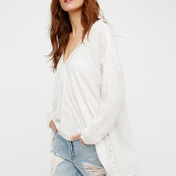 Free People Sea Breeze Top