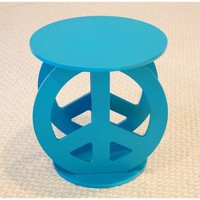 Home Craft Peace Sign Table, Multiple Colors - Walmart.com