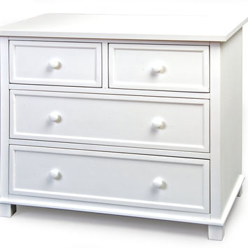ChildCraft Single Dresser (Matte White)
