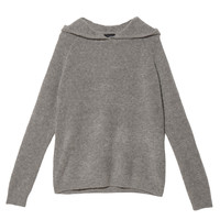 Theory Roseree Hood Sweater - Knit Sweater - ShopBAZAAR
