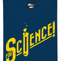 For Science! T-Shirt - Harbor Blue,