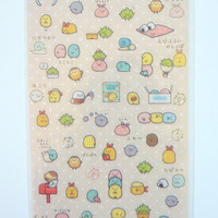 Cute Kawaii Animal Stickers for Scrapbooking and Planners