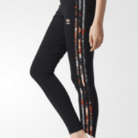 ADIDAS Women Fashion Print Sport Stretch Pants Trousers Sweatpants