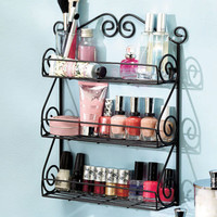 Wall Mount Beauty Organizers