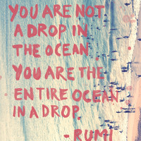 Monday Quote: You Are The Entire Ocean - Free People Blog