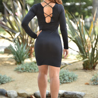 String Theory Dress - Black