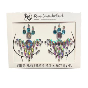 Pixie Rainstorm Iridescent Self-Adhesive Jewel Pasties