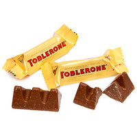 Toblerone Milk Chocolate Tinys: 7-Ounce Bag