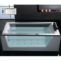 Amazon.com: Whirlpool Bathtub With Inline Heater Drainage Device Waterfall Cascade Style Water Inlet Sydney Whirlpool System & Drainage: Home Improvement