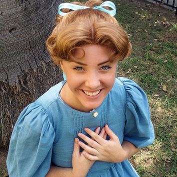 Wendy Darling From Peter Pan Costume Wig A True Enchantment Original