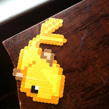 SALE Goldish Perler Bead