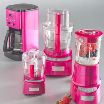 Metallic Pink Kitchen Appliances