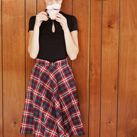 Potluck Hostess Midi Skirt in Red | Mod Retro Vintage Skirts | ModCloth.com