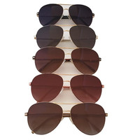 Turn The Light Down Aviator Sunglasses