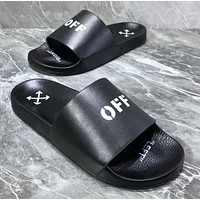OFF-WHITE OFFICIAL SHOE BOX Fashion sports slippers