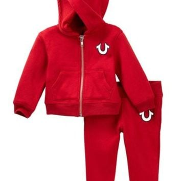 True Religion | Buddha Hoodie & Sweatpants Set (Baby Boys)