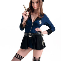 Long Sleeve Flip The Badge Costume Set