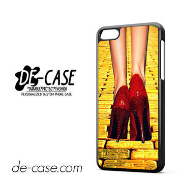 Yellow Brick Road Dorothy Wizard Of Oz Inspired Cute Ruby Red DEAL-12122 Apple Phonecase Cover For Iphone 5C