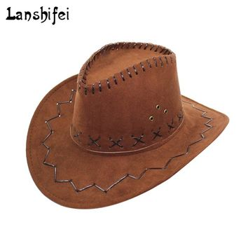 Western Cowboy Hats for Men Women New Arrival Fashion Tourist Caps for Kid Boys Gilrs Party Costumes Cowgirl Cowboy Hats