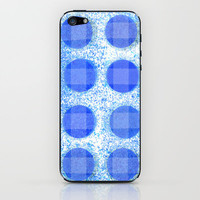 trippy circles iPhone & iPod Skin by Marianna Tankelevich