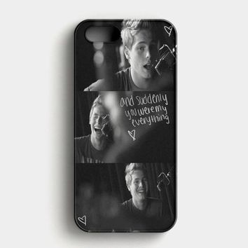 Luke Hermings Collages All Photo iPhone SE Case
