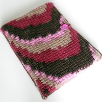 Crochet iPad, 9 inch Kindle, 9 inch Nook Case/ Cozy/ Sleeve