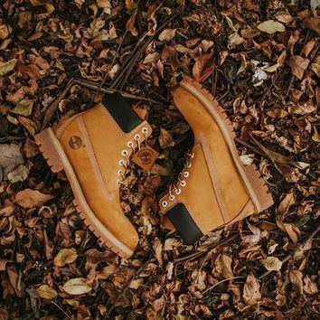 ESBON Timberland 6 in Premium Boot (Wheat)
