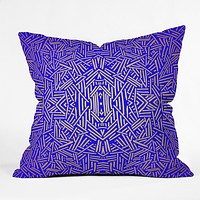 Jacqueline Maldonado Radiate Gold Royal Throw Pillow